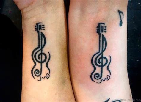 elegant tattoos 40 guitar tattoos for wrist