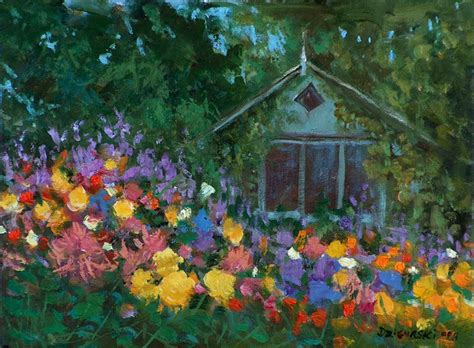 Cottage Gardens Petaluma by Alex Dzigurski Ii Petaluma Cottage Garden