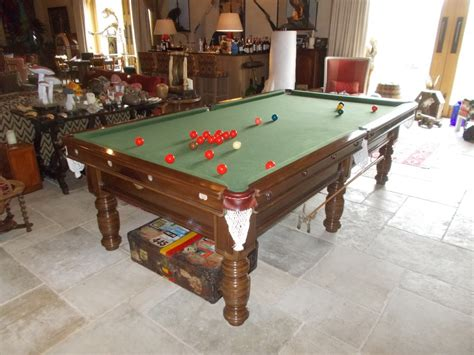 dismantle 9ft billiard table and store in the cotswolds