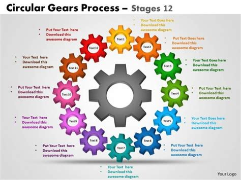 Gears Powerpoint Template Briski Info Powerpoint Gears Template