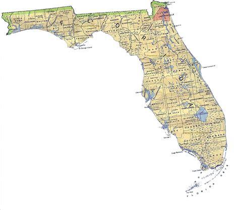 map of floroda pin florida map on