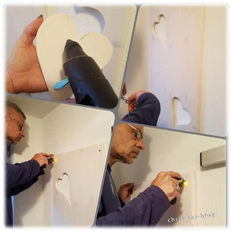 Garderobe An Wand Befestigen by Diy Projekt Garderobe Mit Viel Liebe Chris Ta 180 S