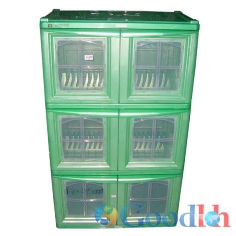 Lemari Plastik Club 4 Tingkat lemari box plastik untuk dapur