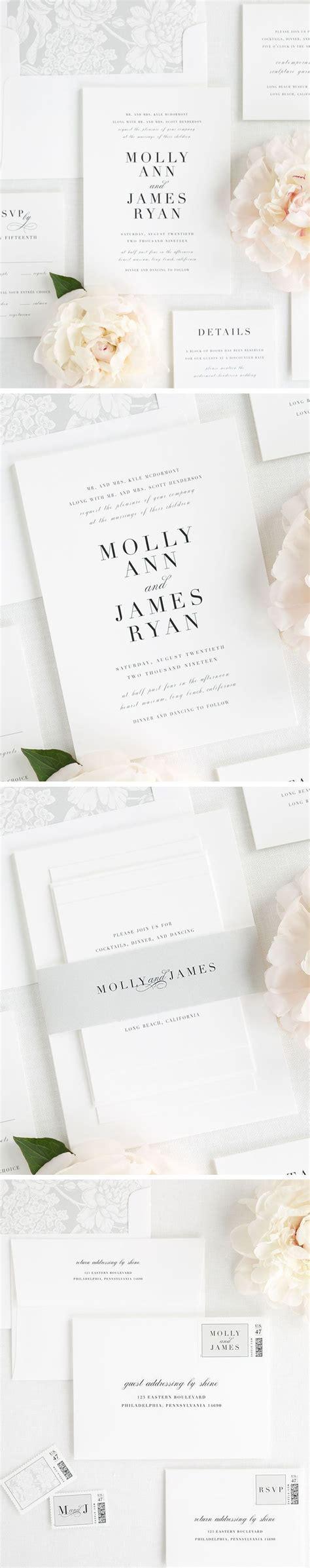 Best 25  Classic wedding invitations ideas on Pinterest