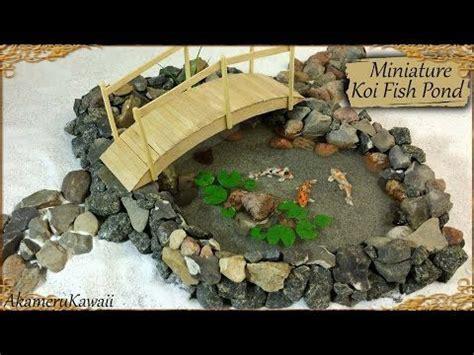 Miniature Koi Fish Pond Tutorial (Creating Dollhouse