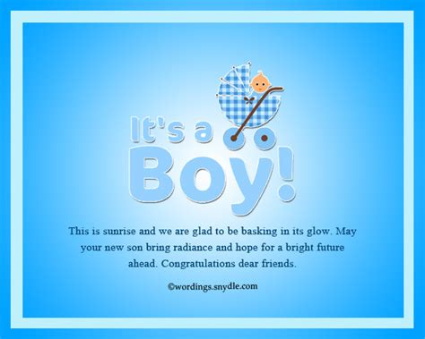 Baby Shower Congrats Wording by Congratulation Messages For New Born Baby Boy Wordings
