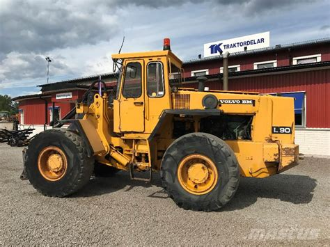used volvo l 90 wheel loaders year 1987 price 14 451
