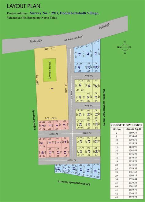 layout plan in bangalore balaji gardenia bangalore karnataka india residential