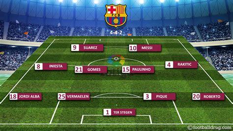barcelona line up barcelona vs levante preview prediction team news