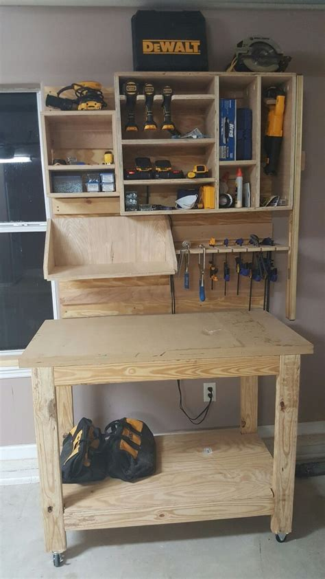 Storing Tools In Garage by