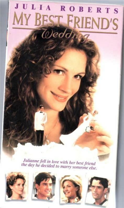 My Best Friends Wedding (1997, VHS) Julia Roberts