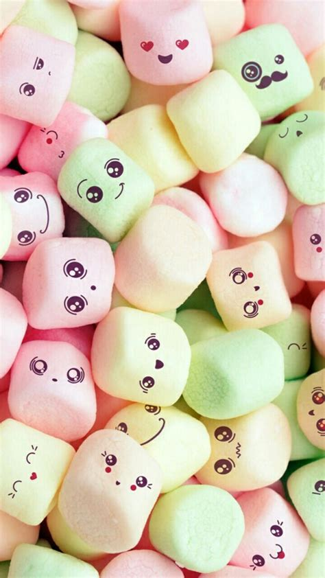 cute wallpapers zedge net download kawaii marshmallows wallpapers to your cell phone