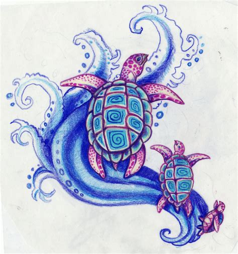 sea turtle tattoos designs sea turtles by kittencaboodles on deviantart