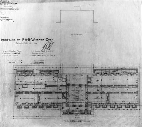 lynnewood hall floor plan lynnewood hall sub basement gilded age mansions