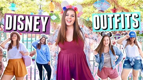 disneyland outfit ideas  curvy girls disney lookbook
