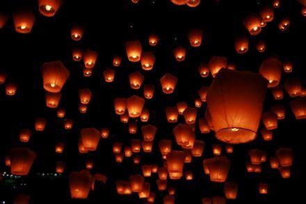 lanterne volanti a forma di cuore lanterne volanti accendi la notte con un atmosfera