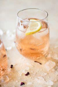 easy rose spritzer recipe salt lavender