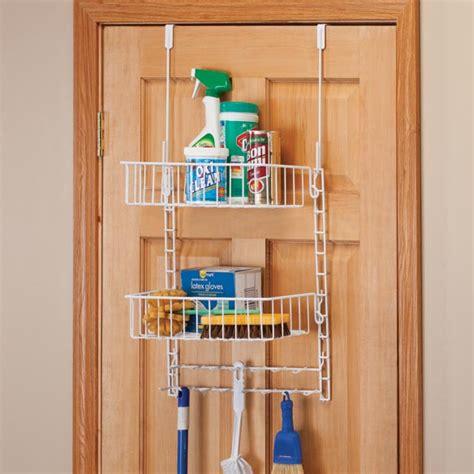 over the door organizer over the door cleaning supply organizer walter drake