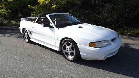4 6 mustang hp 1997 ford mustang cobra convertible 4 6 305 hp 5 speed