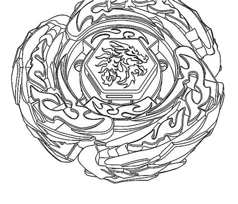 L Drago Coloring Pages free beyblade l drago coloring pages
