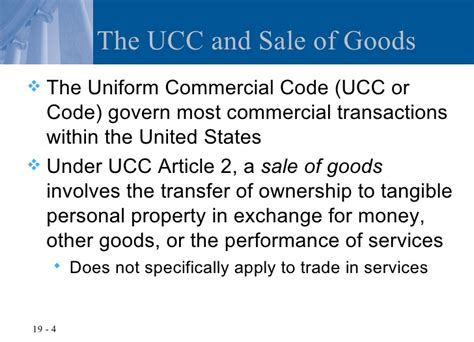 Ucc Section 2 306 by Section 2 306 Of The Commercial Code