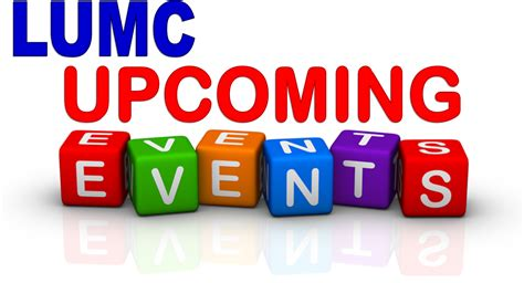 Or Upcoming Upcoming Events