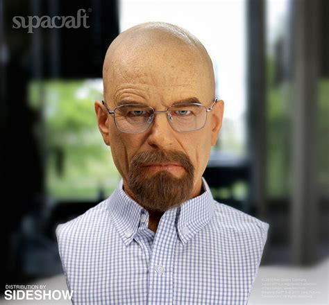breaking bed breaking bad walter white life size bust pre order the