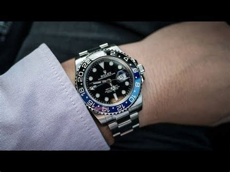 Maroo New Maunga Ii Black a brand new rolex gmt master ii 116710blnr batman black blue bezel steel luxury on wrist