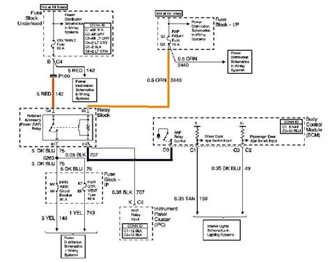 radio wiring diagram for 2003 chevy venture 28 images