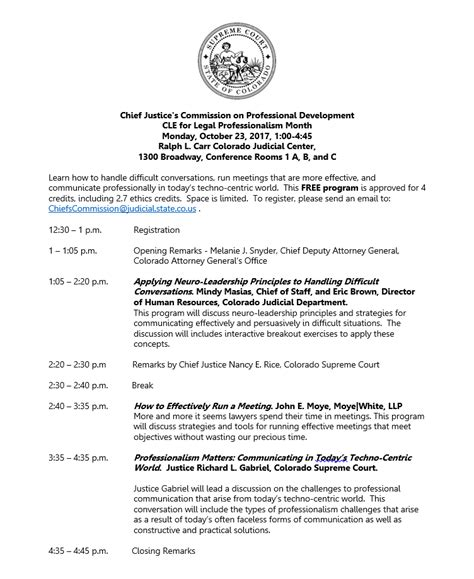 colorado supreme court cle newsletter fall 2017