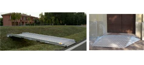 pedane mobili per disabili re mobili disabili per superamento barriere