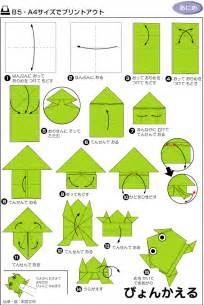 origami frog   how to origami