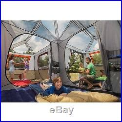 Ozark Trail 3 Room Cottage Cabin by Ozark Trail 12 Person 3 Room L Shaped Instant Cabin Tent
