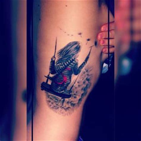 tattoo girl on swing pinterest the world s catalog of ideas