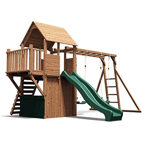 how to build a climbing frame with swing and slide wooden playhouse climbing frame childrens outdoor play