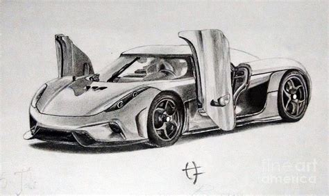 koenigsegg ccx drawing koenigsegg regera drawing by hrishikesh joshi