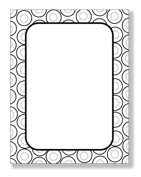 How To Make Paper Borders - view zl 186 quot retro dots border paper quot