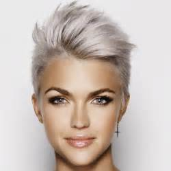 funky hairstyle for silver hair 25 best ideas about ruby rose hair on pinterest ruby