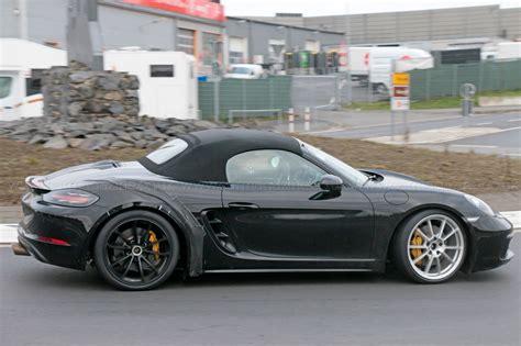 Porsche Boxter by Porsche Dials In New 718 Boxster Gts Car Magazine