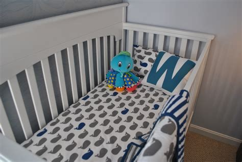 whale crib bedding william s whale nursery project nursery
