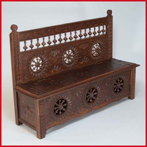 Folks Furniture by Antique Bench Breton Folk Doll Furniture Early From Curleycreekantiques On