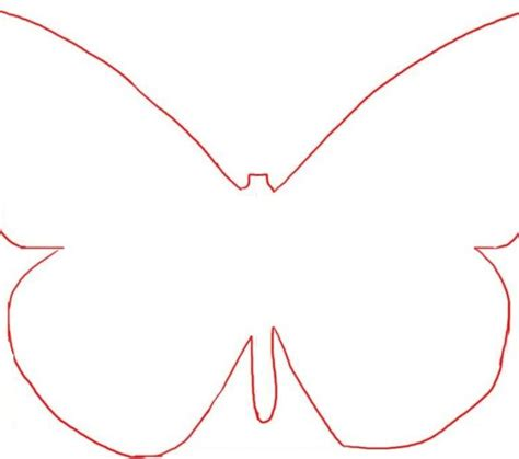 large butterfly template printable large butterfly template printable coloring page