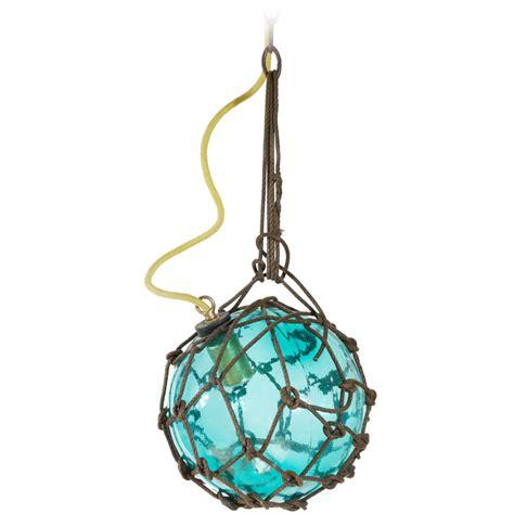 glass fishing float pendant light antique japanese fishing float at 1stdibs