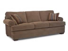 flexsteel living room fabric sofa 7354 31 the sofa store