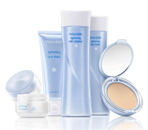 Harga Wardah Milk Cleanser paket wardah lightening series