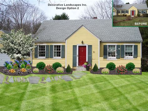 landscaping designs for ranch style homes landscaping ideas for front yard ranch style home the