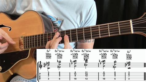 tutorial walking bass how to play walking bass style guitar part 3 youtube