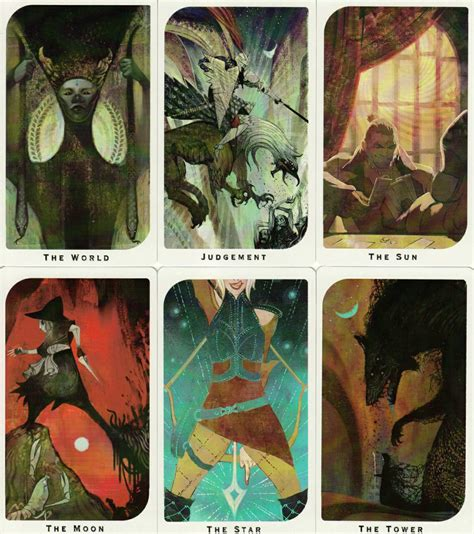 Age Tarot Card Template by Age Inquisition Arcana Tarot Deck