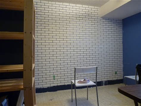 fake exposed brick wall top diy tutorials how to make a faux exposed brick wall