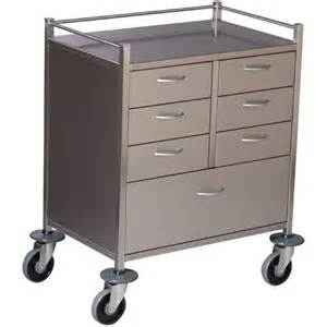 Metal Cart With Drawers 7 Drawer Trolley 750x490x970 Products Dalcross